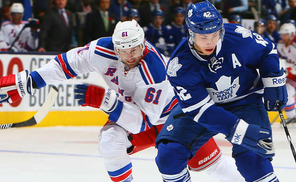 New York Rangers v Toronto Maple Leafs