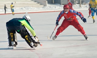 Хоккей с мячом бенди